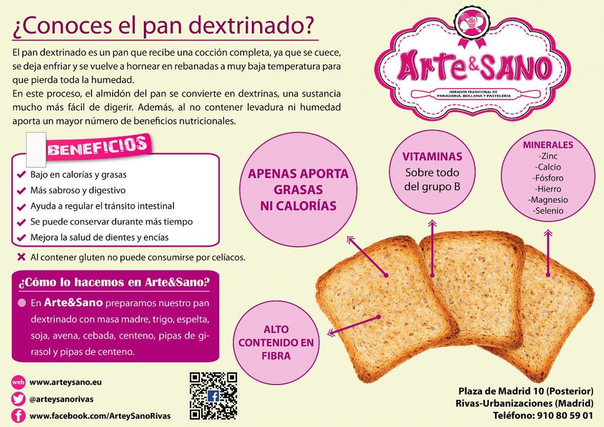 pan dextrinado Arte&Sano