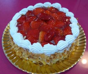tarta de fresas con nata Arte&Sano