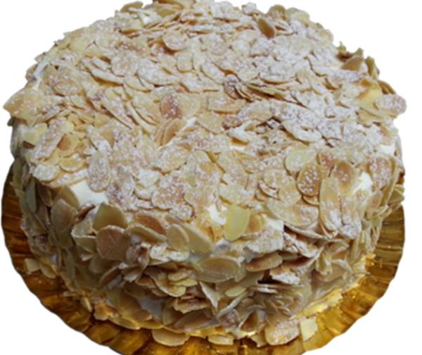 tarta nata almendras Arte&Sano
