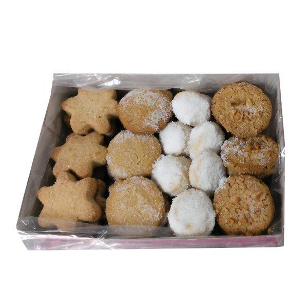 caja surtido de pastas y mantecados navideños 600-650gr Arte&SANO