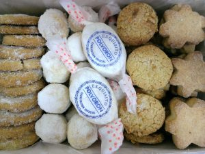 caja surtido de pastas y mantecados navideños 1.000-1.200gr detalle