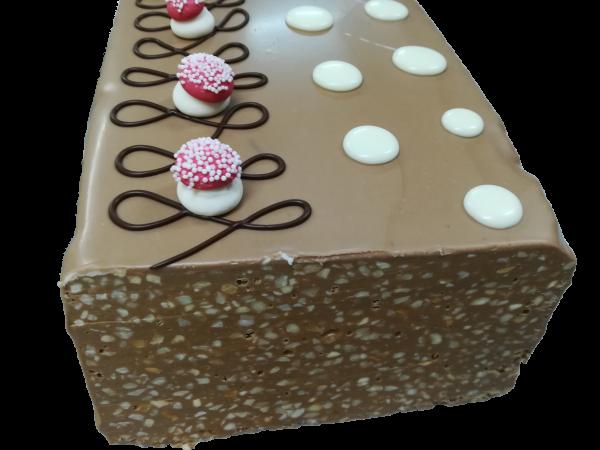 Turrón de chocolate y almendras Arte&Sano