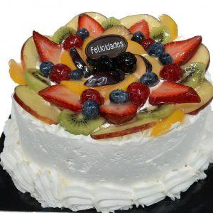 Tarta de Frutas de bizcocho