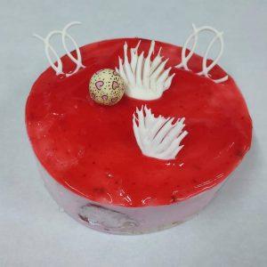 Tarta de fresa semifria Arte&SANO